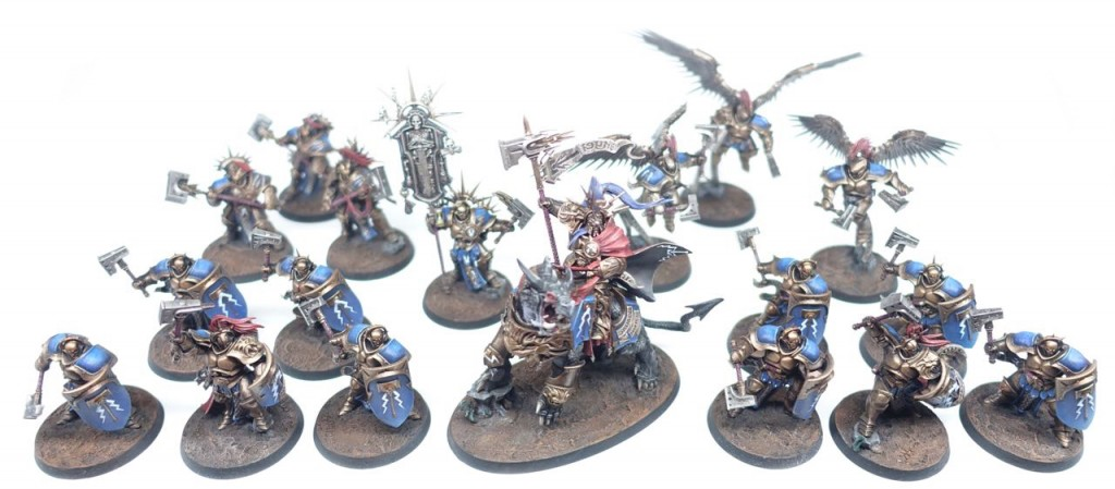 Picture Of Painted Stormcast Eternals